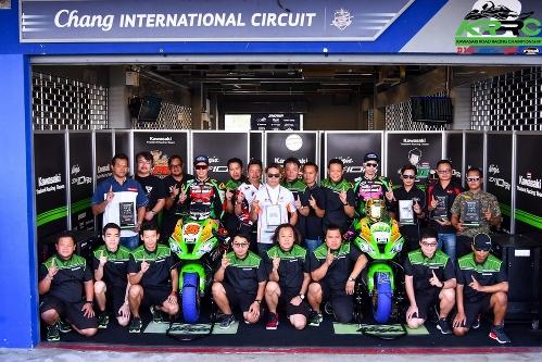 """""""คาวาซากิ"""" เปิดตัวทีมแข่ง """"Core Kawasaki Racing Team"""""""