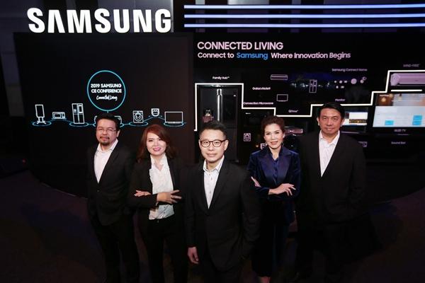 """ซัมซุง ชูคอนเซปต์ """"Connected Living"""" ผ่านเครื่องใช้ไฟฟ้าในบ้าน ด้วยนวัตกรรมสุดล้ำ ทำให้การใช้ชีวิตสะดวกสบายขึ้น"""