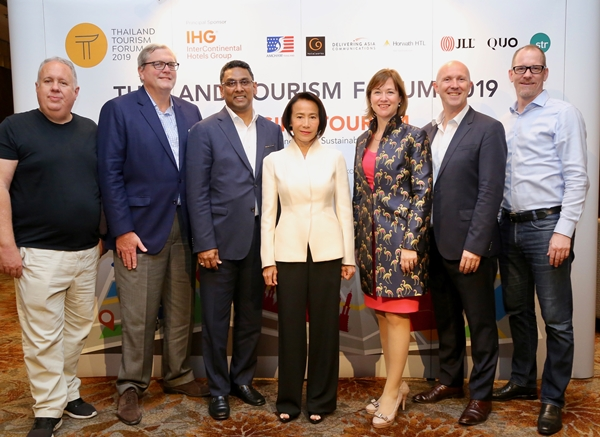 กูรูเผยอนาคตการท่องเที่ยวไทยหลังติดอันดับโลก ในงาน Thailand Tourism Forum 2019