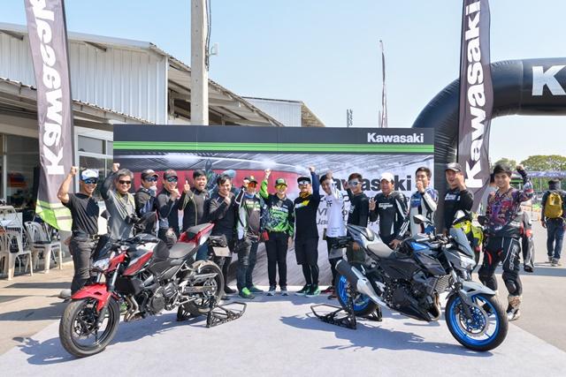 คาวาซากิ เปิดโอกาสให้ผู้สนใจร่วมทดสอบ สัมผัสซูเปอร์เน็คเก็ต ภายในงาน Kawasaki Z400 Test Ride