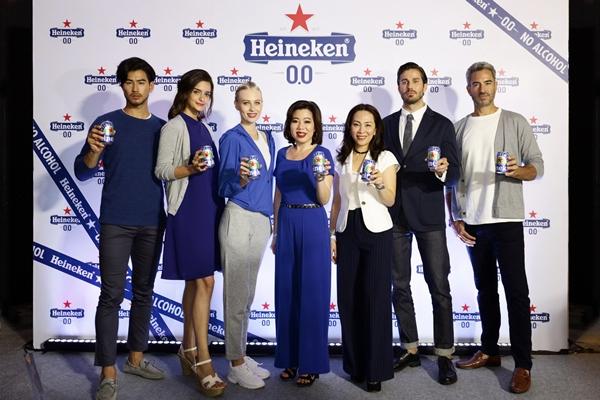 ครั้งแรกในประเทศไทยกับการเปิดตัว Heineken® 0.0 เครื่องดื่มมอลต์ไม่มีแอลกอฮอล์
