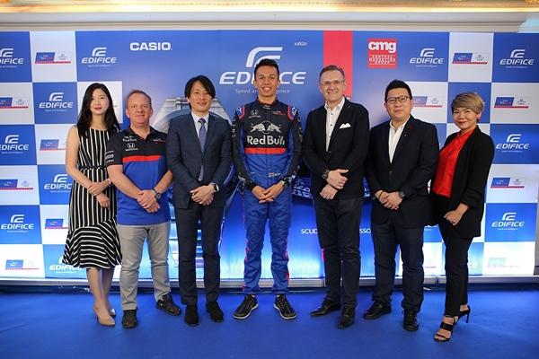 CASIO เปิดตัวนักแข่งท้าความเร็วสัญชาติไทยใน FORMULA 1