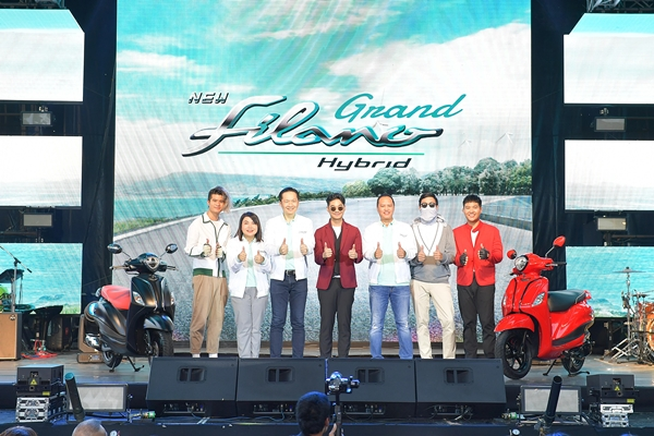 ยามาฮ่าเปิดตัว แกรนด์ ฟีลาโน่ ไฮบริด ใหม่…ออโตเมติก HYBRID คันแรกของเมืองไทย สีใหม่! 6 สี 6 สไตล์