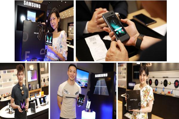 กลุ่มแรกในไทย! ซัมซุง ส่งมอบ 'กาแลคซี่ โฟลด์' ให้ลูกค้าได้สัมผัสแล้ว พร้อมประกาศเปิดจองรอบที่สอง 21 – 25 ตุลาคมนี้