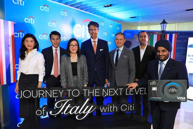 """ซิตี้แบงก์ เปิดตัวสิทธิประโยชน์ท่องเที่ยวอิตาลี """"Journey to the Next Level of Italy with Citi""""  เอกสิทธิ์สำหรับสมาชิกบัตรฯ ซิตี้ เท่านั้น!"""