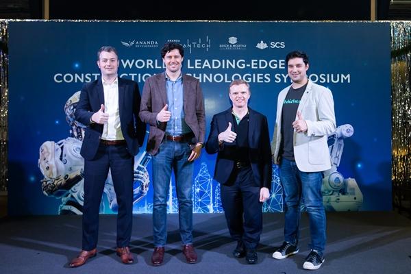 """""""อนันดา เออร์เบินเทค"""" จับมือ Brick & Mortar Ventures และ SCS จัดเสวนาเทคโนโลยีการก่อสร้างอัจฉริยะระดับโลก"""