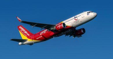 สายการบินไทยเวียตเจ็ทเปิดเส้นทางบินใหม่ อู่ตะเภา – โฮจิมินห์