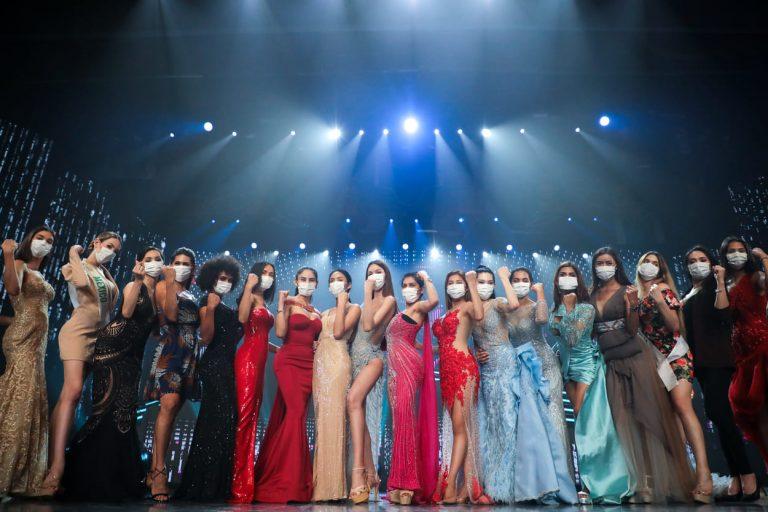 21 สาวเวที Miss International Queen 2020 สวมใส่หน้ากากอนามัยระหว่างการซ้อมใหญ่จัดเต็ม!