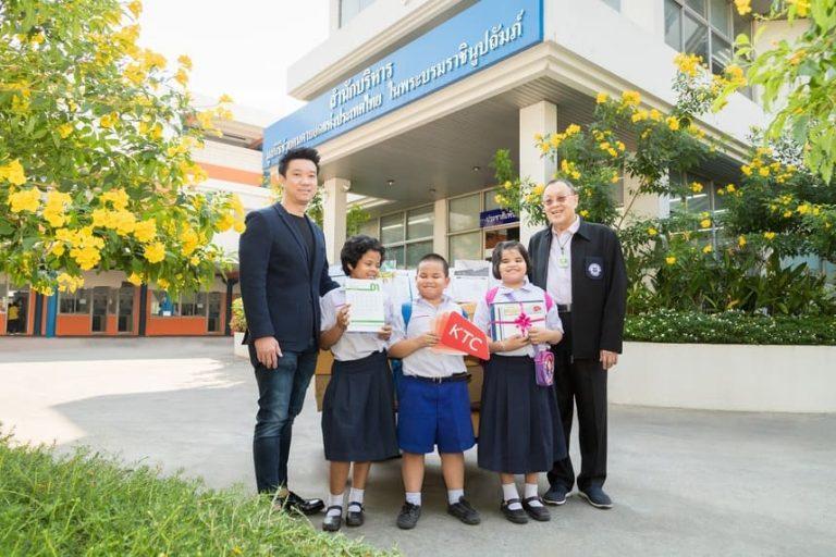 เคทีซี มอบปฏิทินใช้แล้วเพื่อผลิตสื่อการเรียนอักษรเบรลล์ ให้กับมูลนิธิช่วยคนตาบอดแห่งประเทศไทยฯ