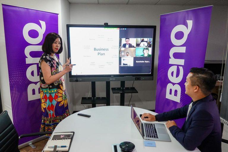 """เบ็นคิว ชูนวัตกรรมจอ Interactive Flat Panel (IFP) เพื่อการเรียนรู้จากระยะไกลในธีม""""Distance Learning"""""""