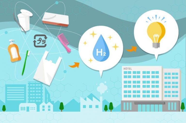 """เปลี่ยนขยะพลาสติกเป็นพลังงานกับ """"โรงแรมไฮโดรเจน"""" แห่งแรกของโลก"""