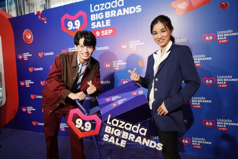 'Lazada 9.9 Big Brands Sale'ยกระดับประสบการณ์ ช้อปออนไลน์ ด้วยโฉมใหม่ของ LazMall