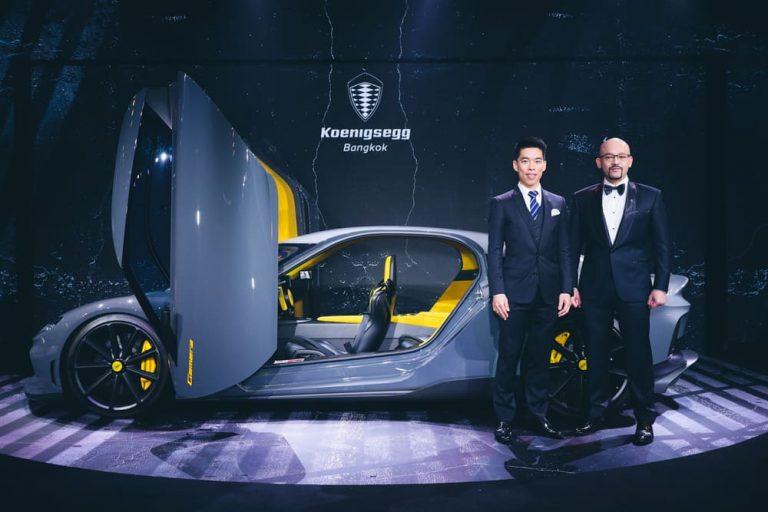 """Koenigsegg"""" (เคอนิกเส็กก์) เปิดบ้านในไทย ส่ง 2 ไฮเปอร์คาร์หาชมยาก! พร้อมฉลองแต่งตั้งตัวแทนจำหน่ายอย่างเป็นทางการ"""