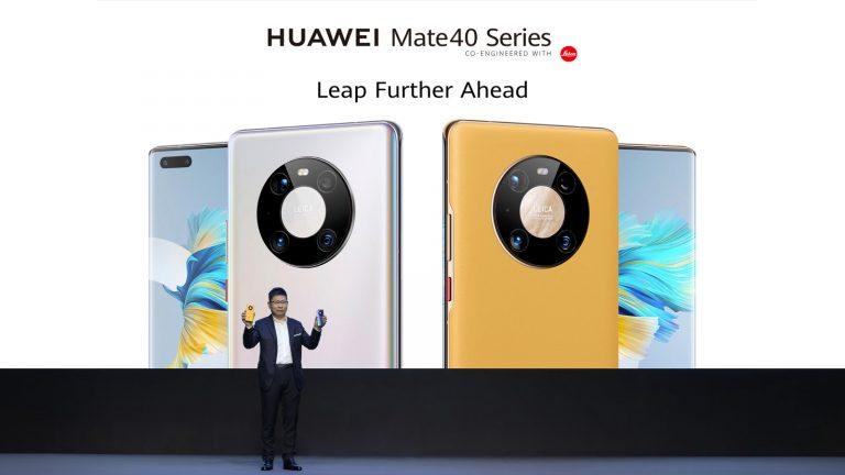 HUAWEI Mate 40 Series: เผยโฉม Mate Series ที่ทรงประสิทธิภาพสูงสุดเป็นประวัติการณ์