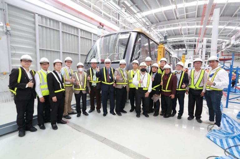เอเอ็มอาร์ เอเซีย โชว์ผลงานรถไฟฟ้าสายสีทองฝีมือคนไทย