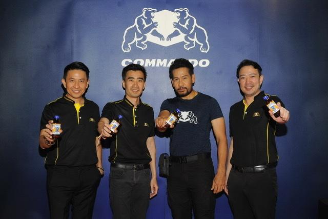 คอมมานโด รุกตลาดในไทย ทำเครื่องดื่มชูกำลัง COMMANDO