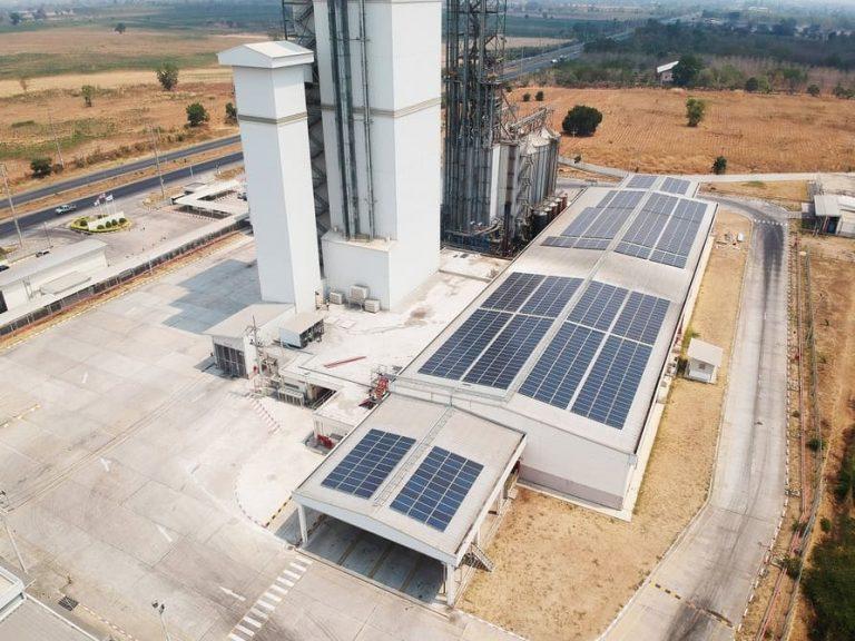 คลีนเทค โซลาร์ ติดตั้งโครงการระบบผลิตไฟฟ้าพลังงานแสงอาทิตย์