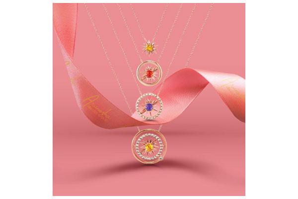 """The Sun Collection"" สร้อยส่งต่อพลังบวก Pink Gold  ชิ้นมาสเตอร์พีซจาก หน่อง – อรุโณชา"