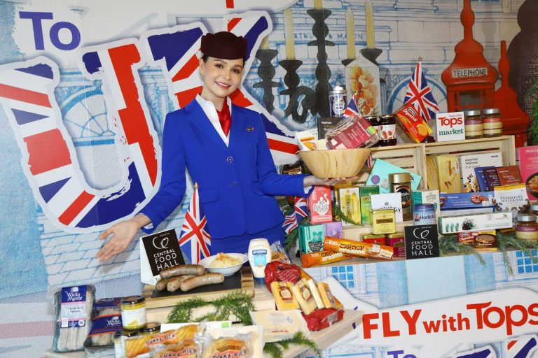 """ท็อปส์ จัดแคมเปญ """"Fly with Tops to UK"""" ไม่ต้องบินก็ฟินเหมือนไปกินที่อังกฤษ"""