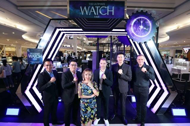 ห้างโรบินสัน ผนึก 50 แบรนด์นาฬิกาชั้นนำ จัดบี๊กอีเว้นท์ 'ROBINSON THE ULTIMATE WATCH FAIR2021' งัดกลยุทธ์ 'ออมนิชาแนล' ทั้งหน้าร้าน และออนไลน์