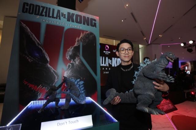 """สิ้นสุดการรอคอย """"Godzilla vs. Kong"""" เข้าฉาย 25 มีนาคมนี้ เหล่าคนดังตบเท้าร่วมสัมผัสความยิ่งใหญ่ในงานThailandGala PremiereGodzilla vs. Kong"""" รอบแรกในไทย"""