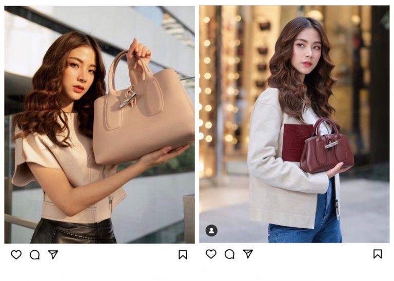 """""""ใบเฟิร์น พิมพ์ชนก""""สวยหวานเกินต้าน ขึ้นแท่น Brand Muse คนใหม่ล่าสุดกับ Longchamp Thailand"""