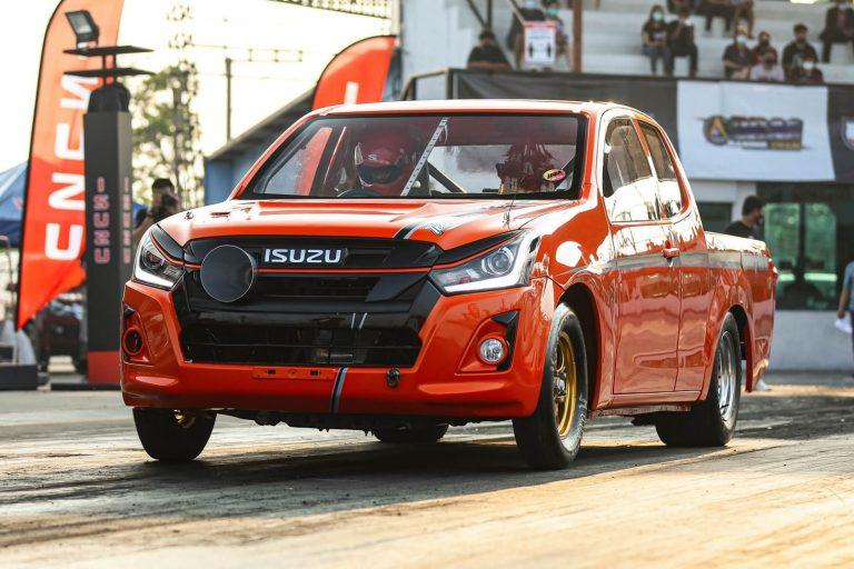 """""""อีซูซุดีแมคซ์"""" ที่สุดแห่งความเร็วในการแข่งขัน Isuzu Race Spirit 2020 รอบชิงชนะเลิศ"""