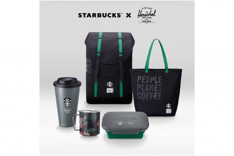 สตาร์บัคส์ เปิดคอลเลคชั่น Starbucks® X Herschel Supply Co. โดดเด่นด้วยวัสดุรีไซเคิลและคุณสมบัตินำกลับมาใช้ซ้ำได้