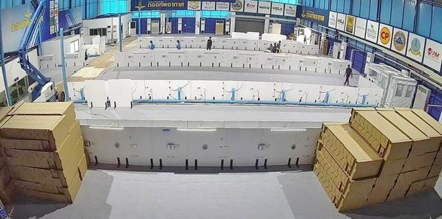 "BDMS ร่วมกับกองทัพอากาศ เตรียมการจัดตั้ง ""โรงพยาบาลสนามบีดีเอ็มเอส สนามกีฬา ทอ. (ธูปะเตมีย์)"""