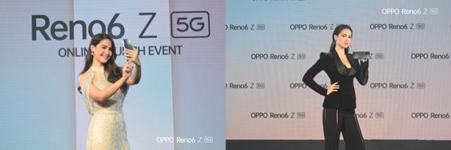"""ออปโป้ ลุยกระตุ้นตลาดกลางปี เปิดตัว """"OPPO Reno6 Z 5G"""" สมาร์ทโฟนรุ่นล่าสุด  คว้า """"ญาญ่า-อุรัสยา"""" ขึ้นแท่นพรีเซ็นเตอร์ ปลุกกระแสการถ่ายภาพและวิดีโอพอร์ตเทรต"""
