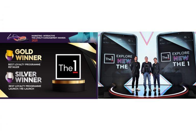 """""""The 1""""คว้า2รางวัลยอดเยี่ยมจากเวทีระดับภูมิภาคเอเชียแปซิฟิก The Loyalty & Engagement Awards2021"""
