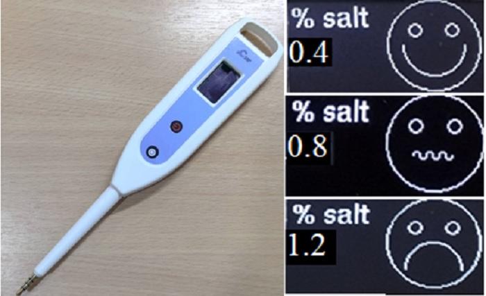 ลดพฤติกรรมการกินเค็มและลดความดันโลหิต ด้วยอุปกรณ์วัดปริมาณเกลือในอาหาร หรือ Salt Meter