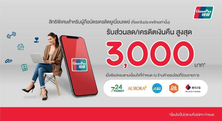 ยูเนี่ยนเพย์อินเตอร์เนชั่นแนลจับมือบริษัท บัตรกรุงไทย เปิดใช้เทคโนโลยี3D Secureในประเทศไทย